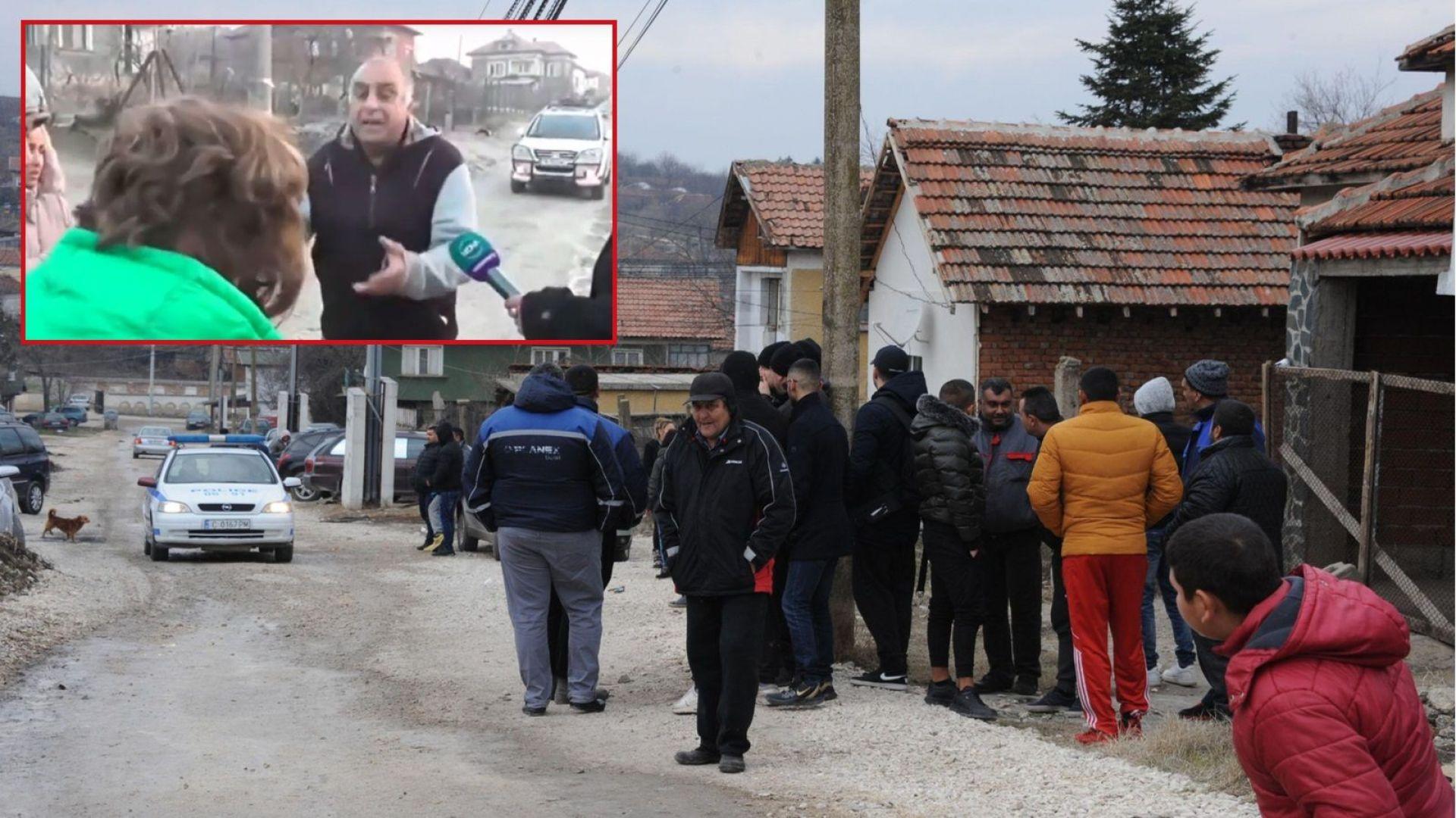 Роднините на Андреа се изправиха очи в очи с дядото на убиеца (видео)