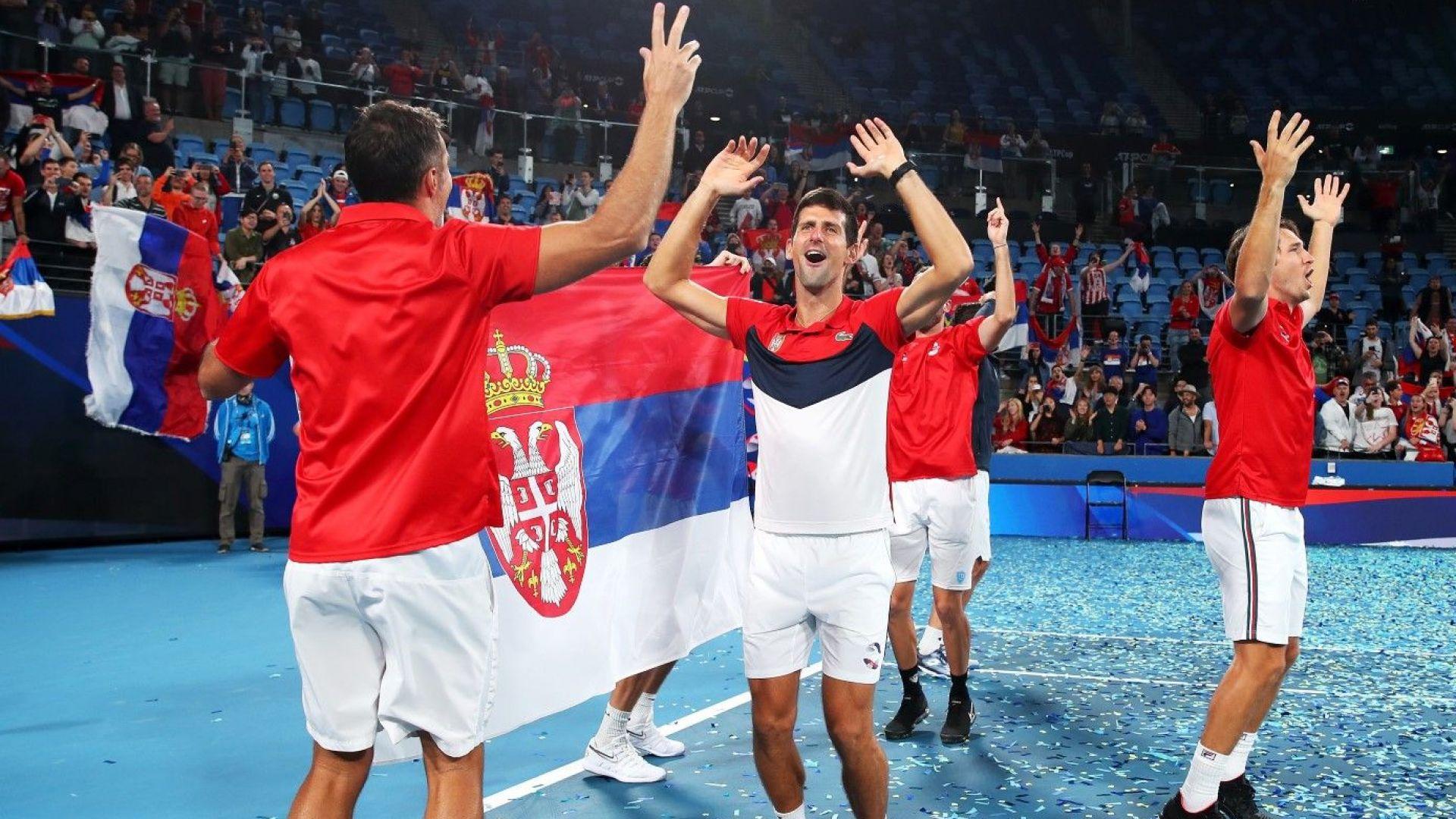 Жребият за АТР Cup: Тежка задача за Ноле и Сърбия, Надал и испанците имаха късмет