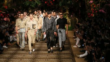Dolce & Gabbana, Armani и агне откриха Седмицата на мъжката мода в Милано