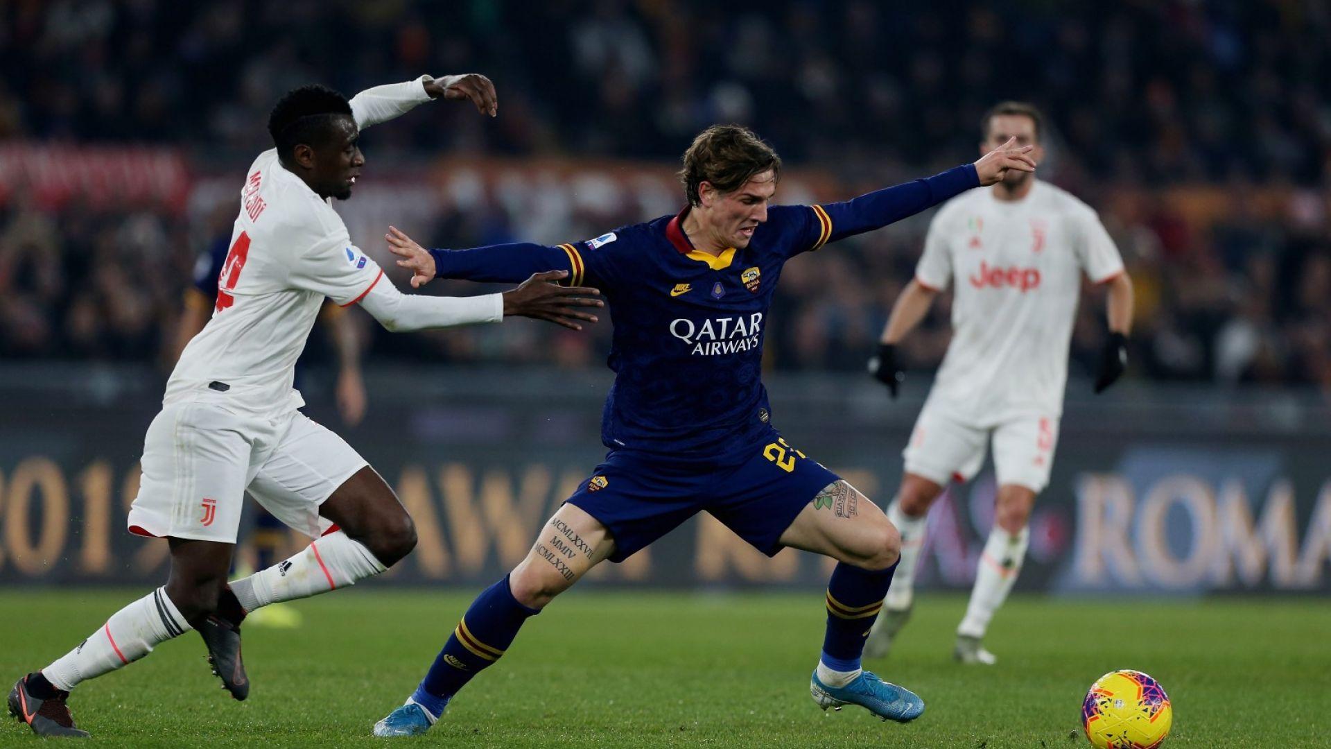 Голям удар за Рома и Италия - младата звезда Дзаниоло е с много тежка контузия