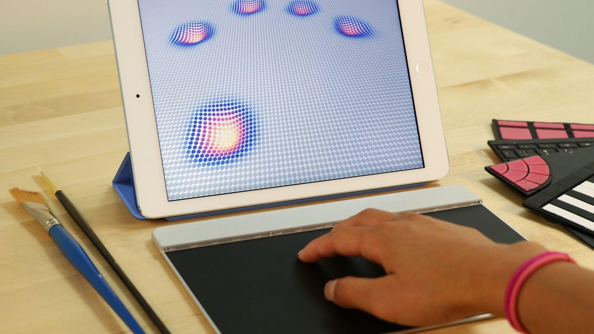 Нова сензорна технология работи на всяка повърхност