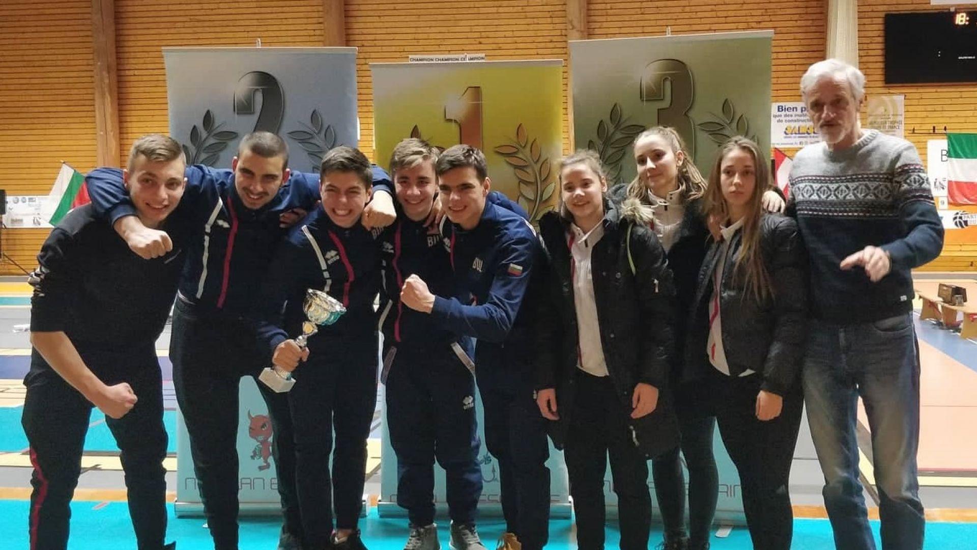 Българин е носител на Европейска купа по фехтовка