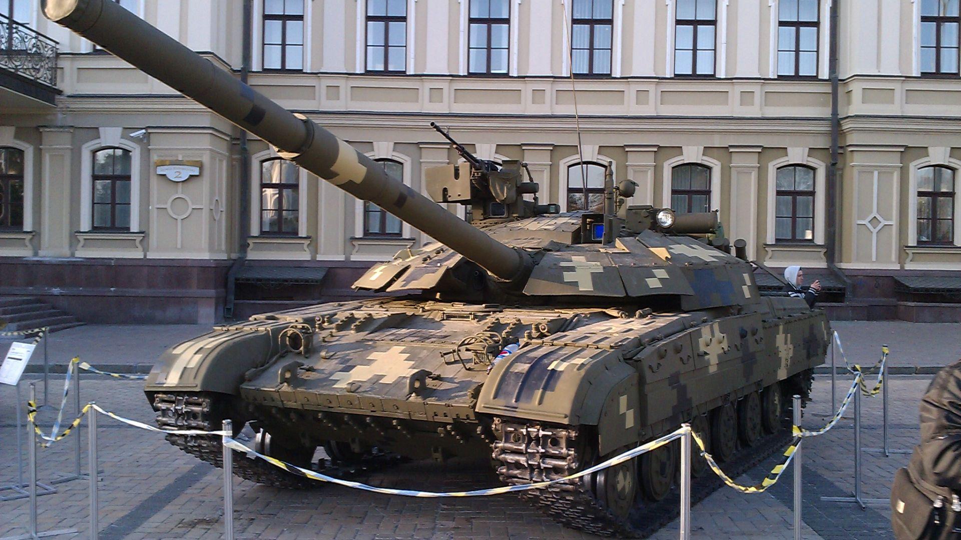 Украйна модернизира стар съветски танк против Русия