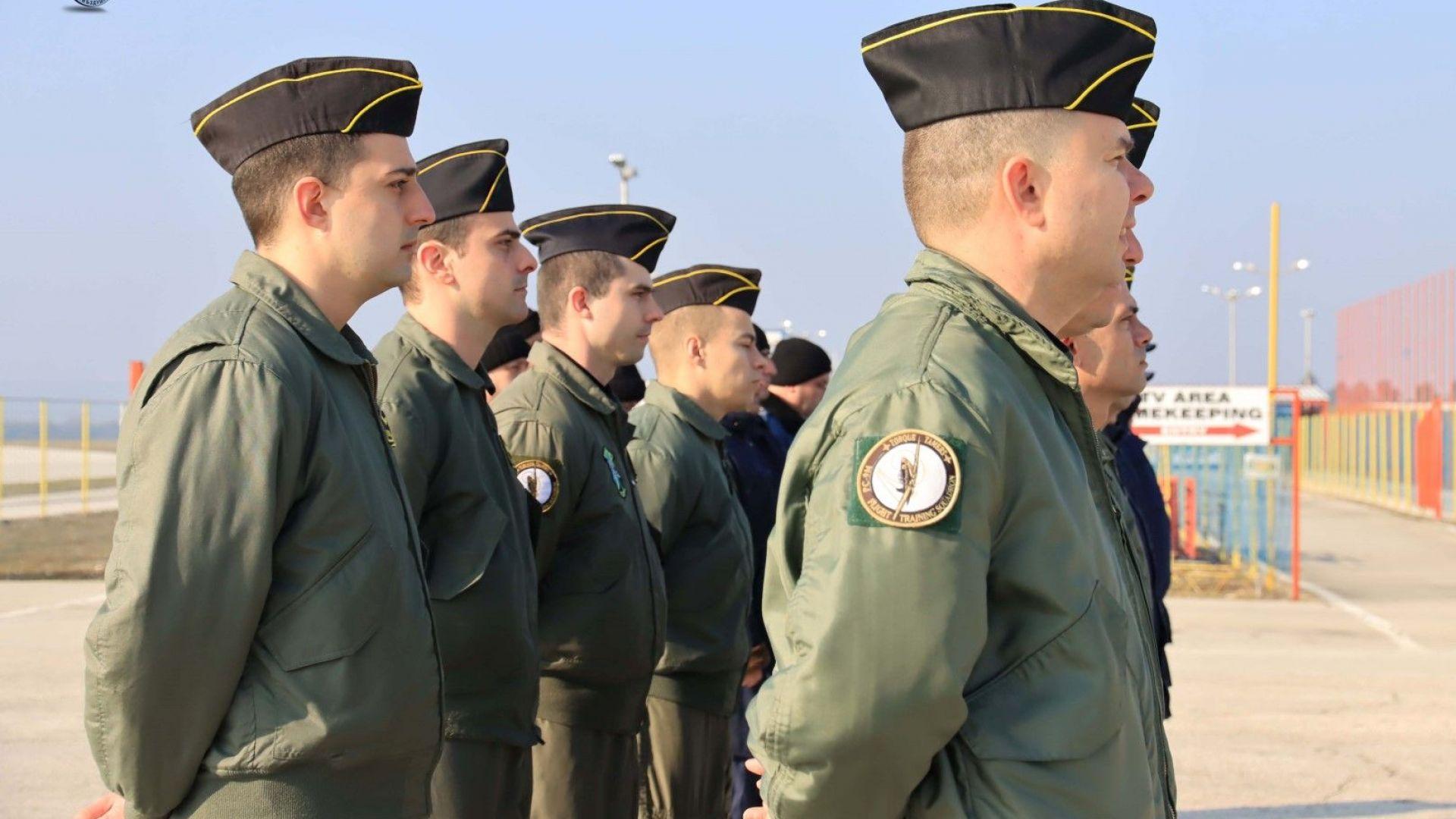 Наши пилоти ще се обучават в 10 страни от НАТО
