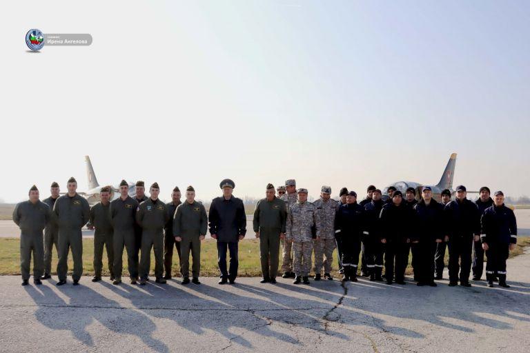Летателното обучение ще се извърши на самолет L-39 ZA