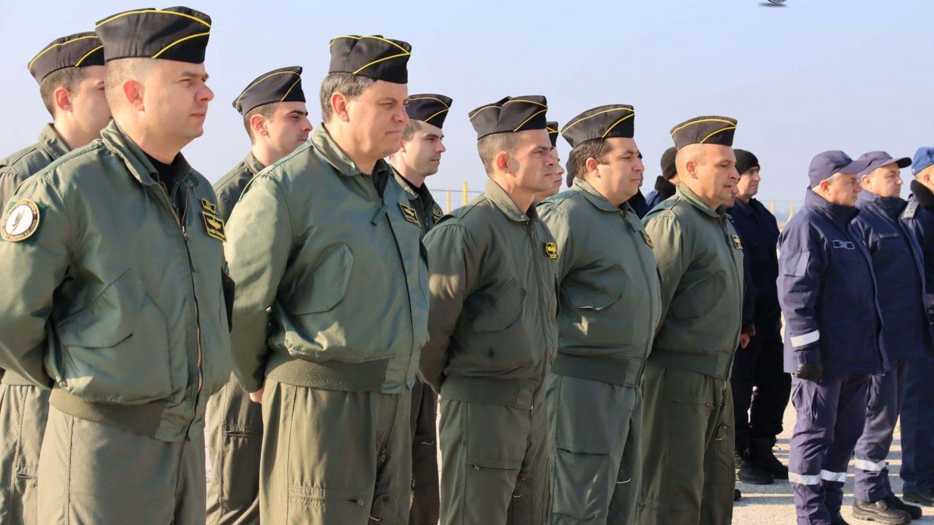 Стартира обучението на летците за F-16, които ще тренират в САЩ