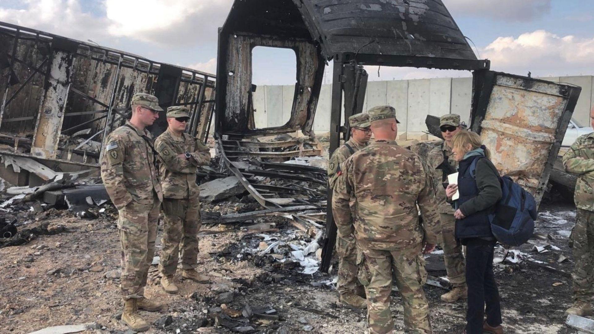 Трима американски войници са били ранени при ракетната атака срещу базата Таджи в Ирак