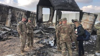 """34 US войници са били ранени при ракетния удар """"Мъченик Солеймани"""""""