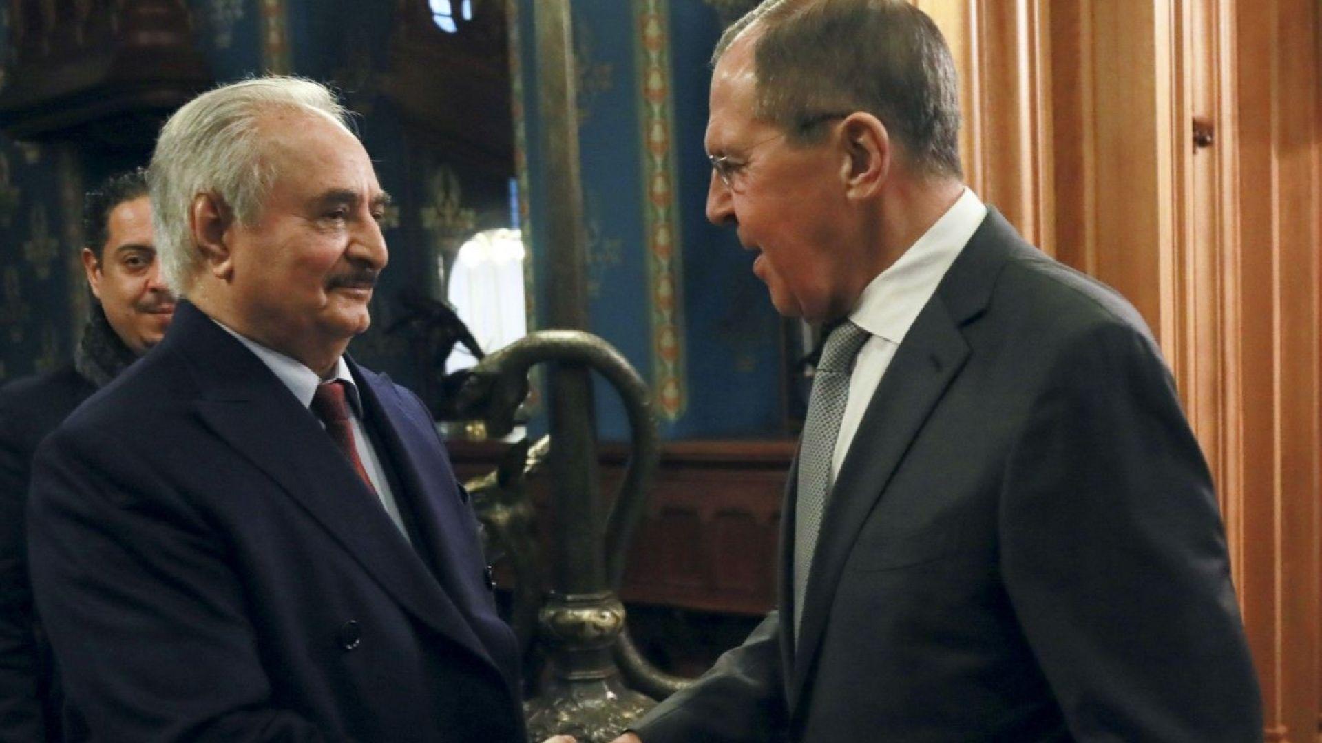 Фелдмаршал Хафтар обясни защо не е подписал споразумението за примирие в Либия