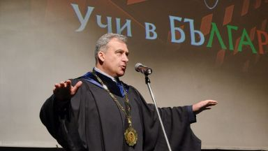 Проф. Д-р Станислав Семерджиев - ректор на НАТФИЗ за четвърти мандат