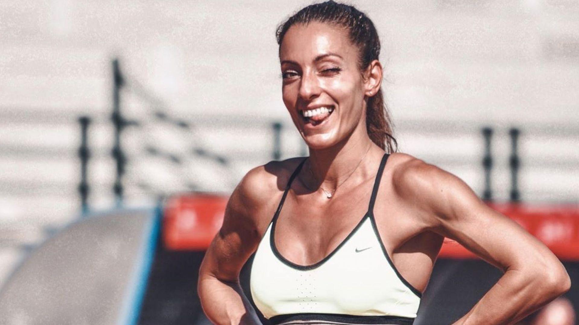 Мотивирана и секси – Ивет Лалова тренира усилено в Тенерифе