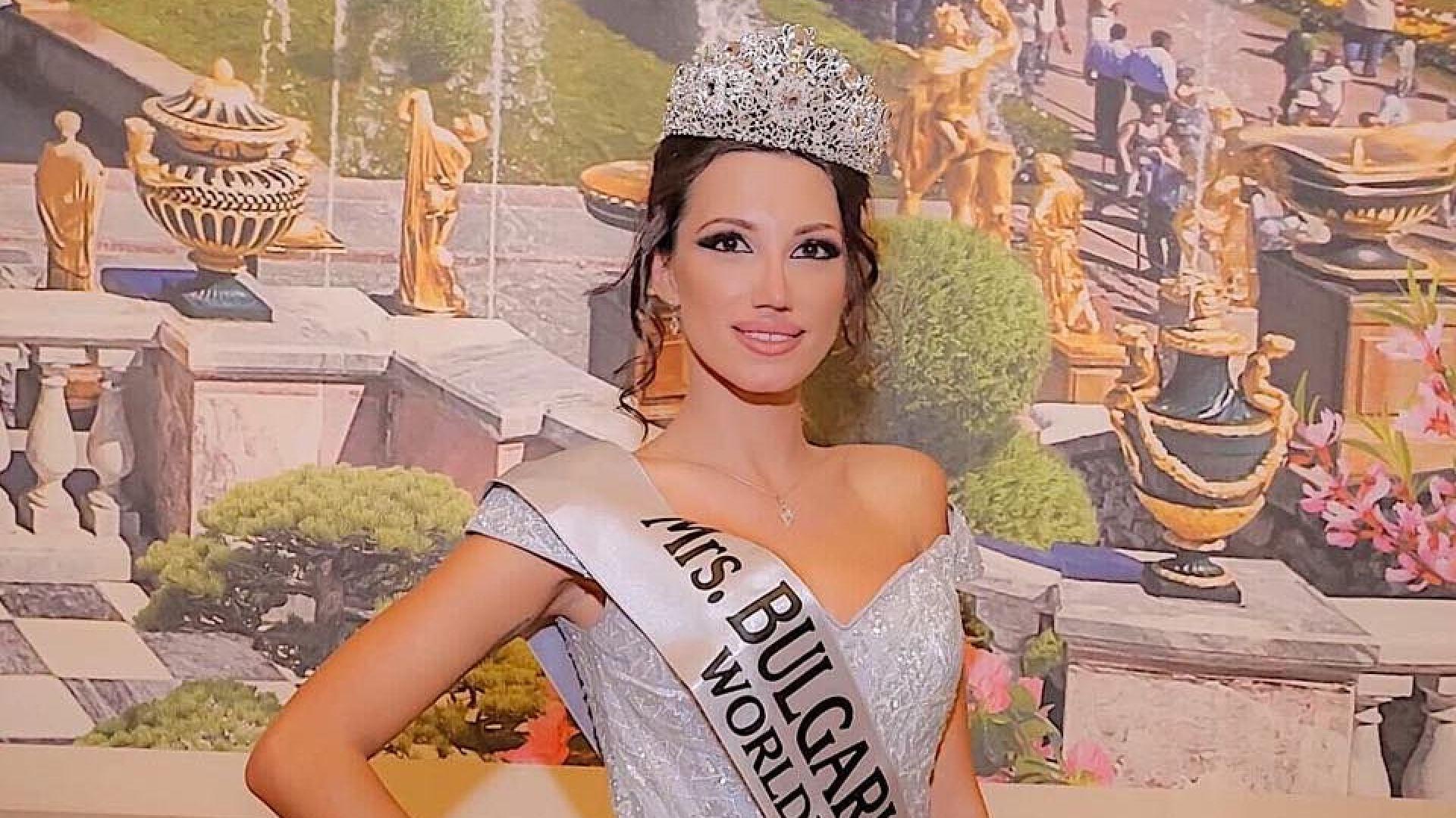 Марина Цветaнова - Мисис България 2019, ще участва в Седмицата на модата в Милано