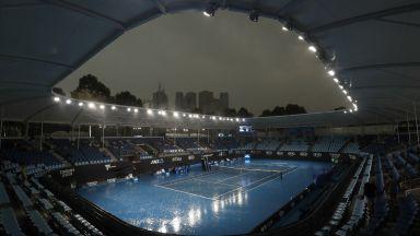 Дъжд вдъхна надежда за провеждането на Australian Open