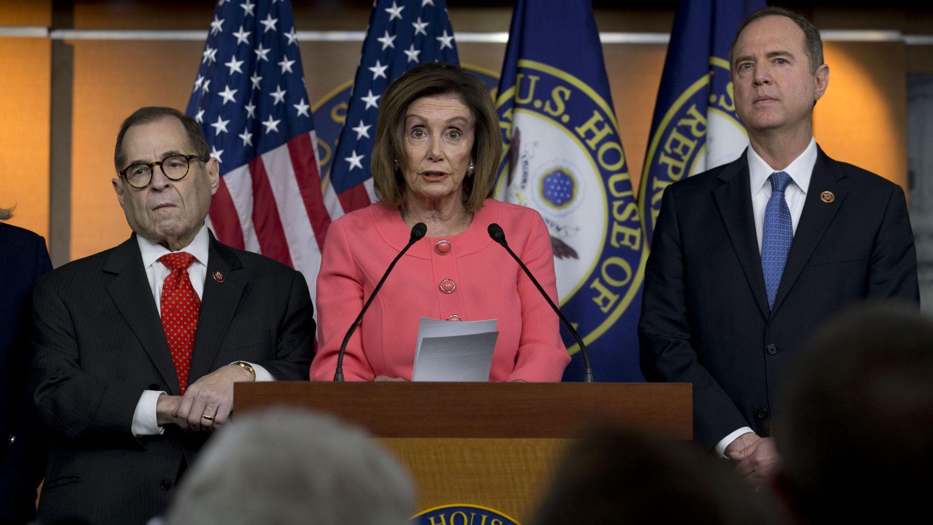 Камарата на представителите изпрати в Сената основанията за импийчмънт на Тръмп