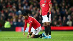 Тежък удар за Юнайтед - голмайсторът Рашфорд е с много сериозна травма