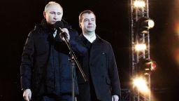 """Форбс"": Путин свали Медведев заради провала в трите национални проекта"