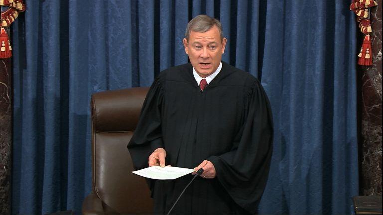 Главен съдия Джон Робъртс, председател на Върховния съд на САЩ, ще председателства процеса за импийчмънт срещу Доналд Тръмп
