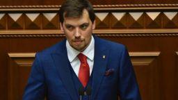 Украинският премиер подаде оставка заради аудиозапис за Зеленски