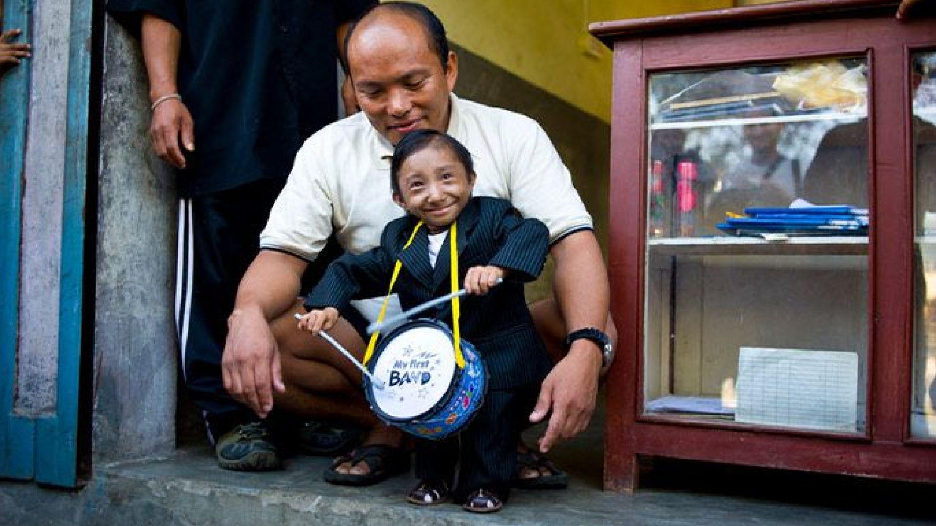 Кхагендра Тхапа Магар от Непал - рекордьор на Гинес за