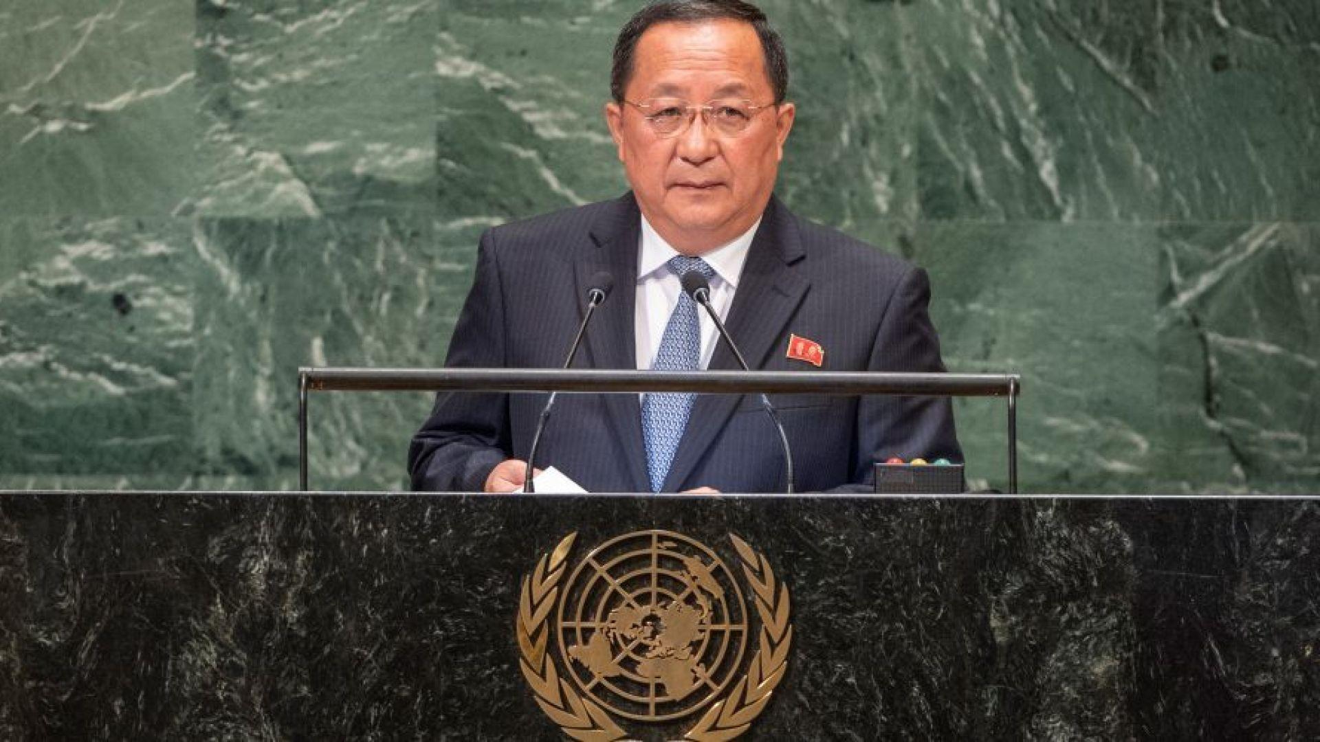Севернокорейският външен министър И Йон-хо е бил сменен, съобщи днес