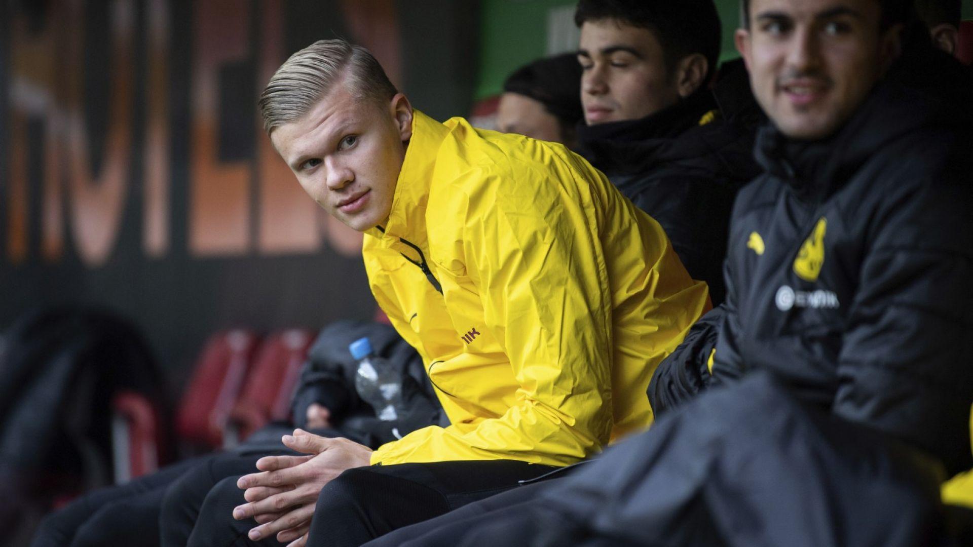 Сензацията Халанд  дебютира в Бундеслигата с 20-минутен хеттрик