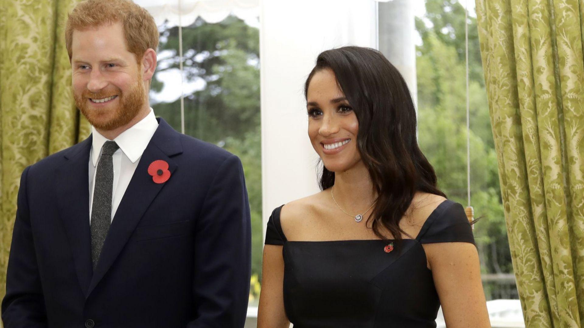 Принц Хари отпътува от Обединеното кралство за Канада