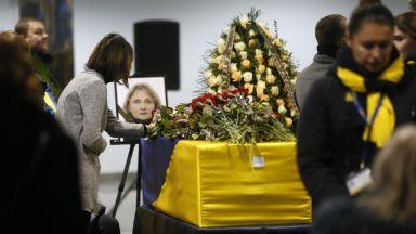 Иран върна тленните останки на 11 украинци, загинали в сваления самолет
