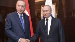 Путин: Заедно с Ердоган свалихме напрежението в Либия