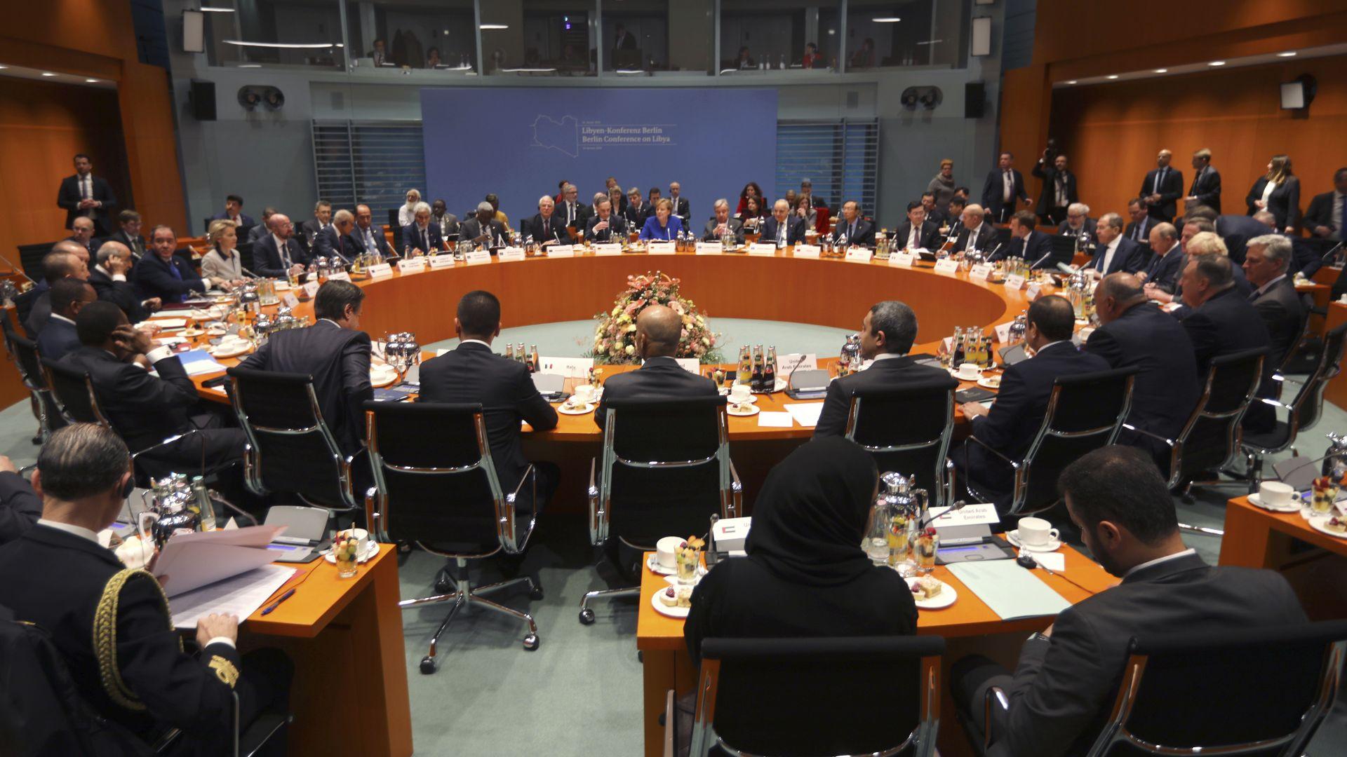Делегацията на международно признатото либийско Правителство на националното съгласие е