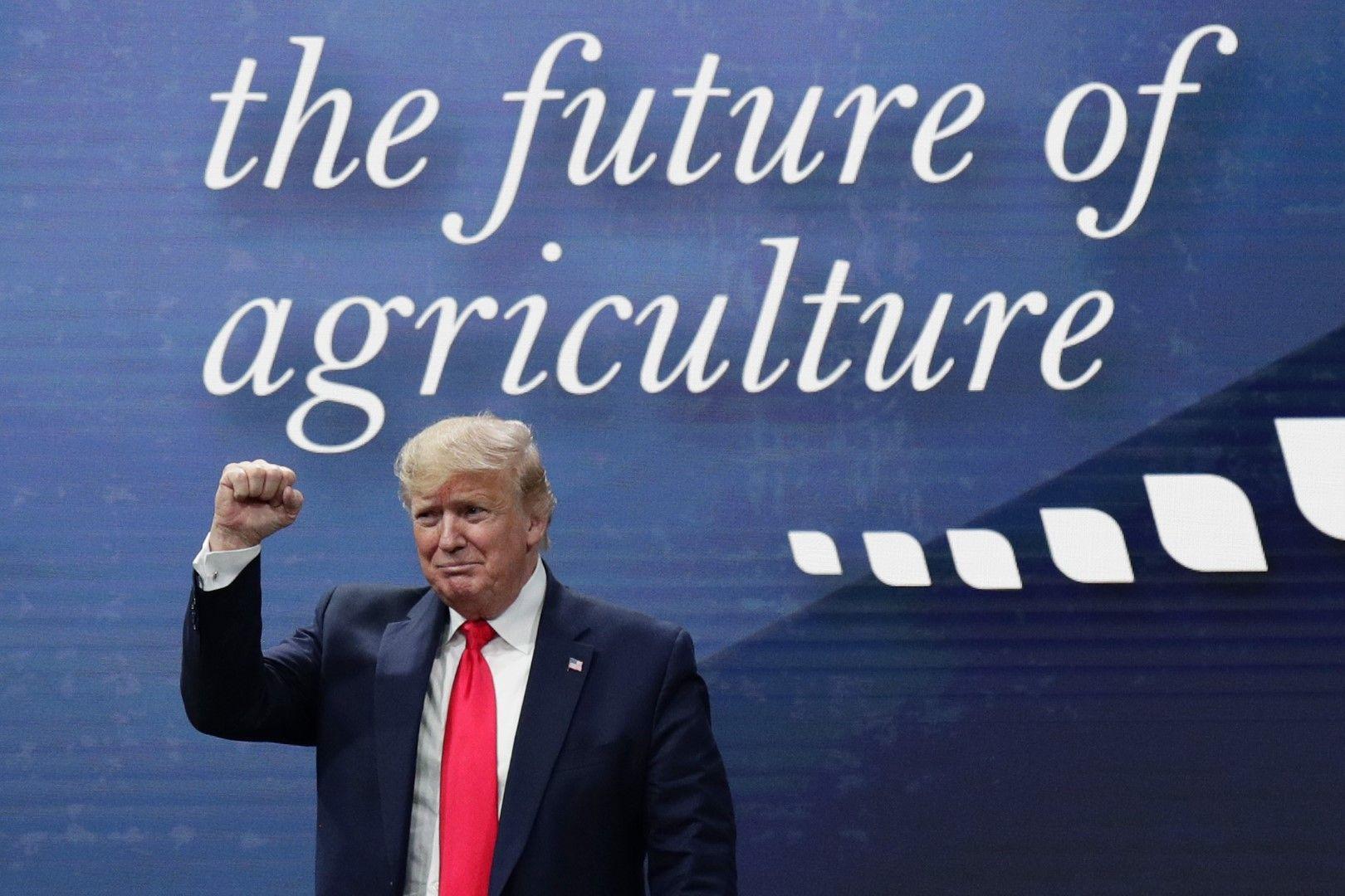 Доналд Тръмп надъхва фермерите в Тексас