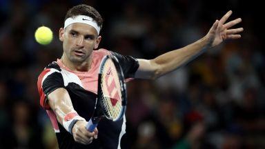 Григор Димитров загуби сет, но повали аржентинец на старта в Австралия