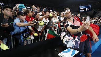 Гришо след победата: С толкова български фенове, навсякъде се чувствам като у дома