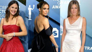 Най-бляскавите дами на Гилдията на филмовите актьори