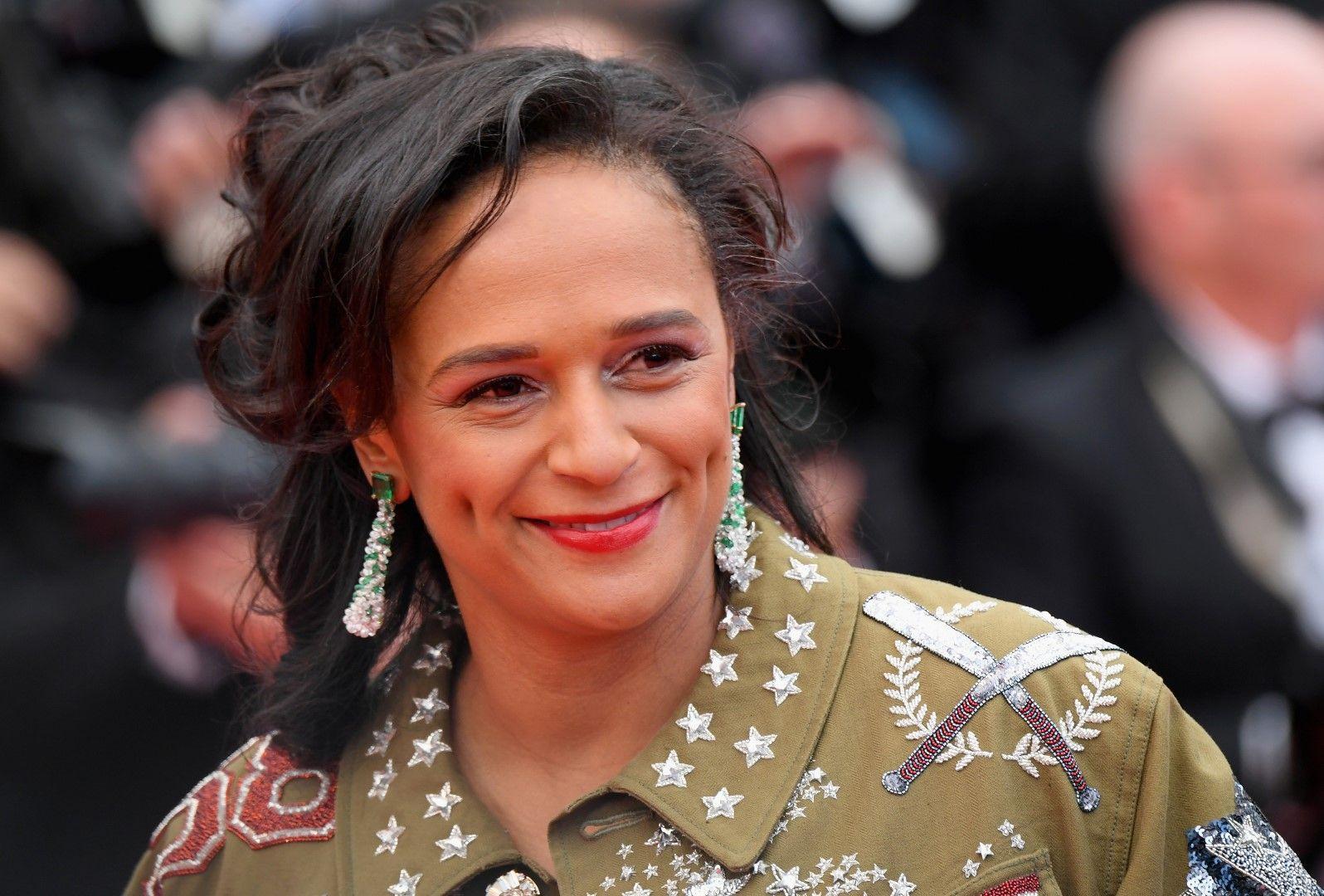 Изабел Душ Сантуш ба кинофестивала в Кан, 14 май 2018 г.