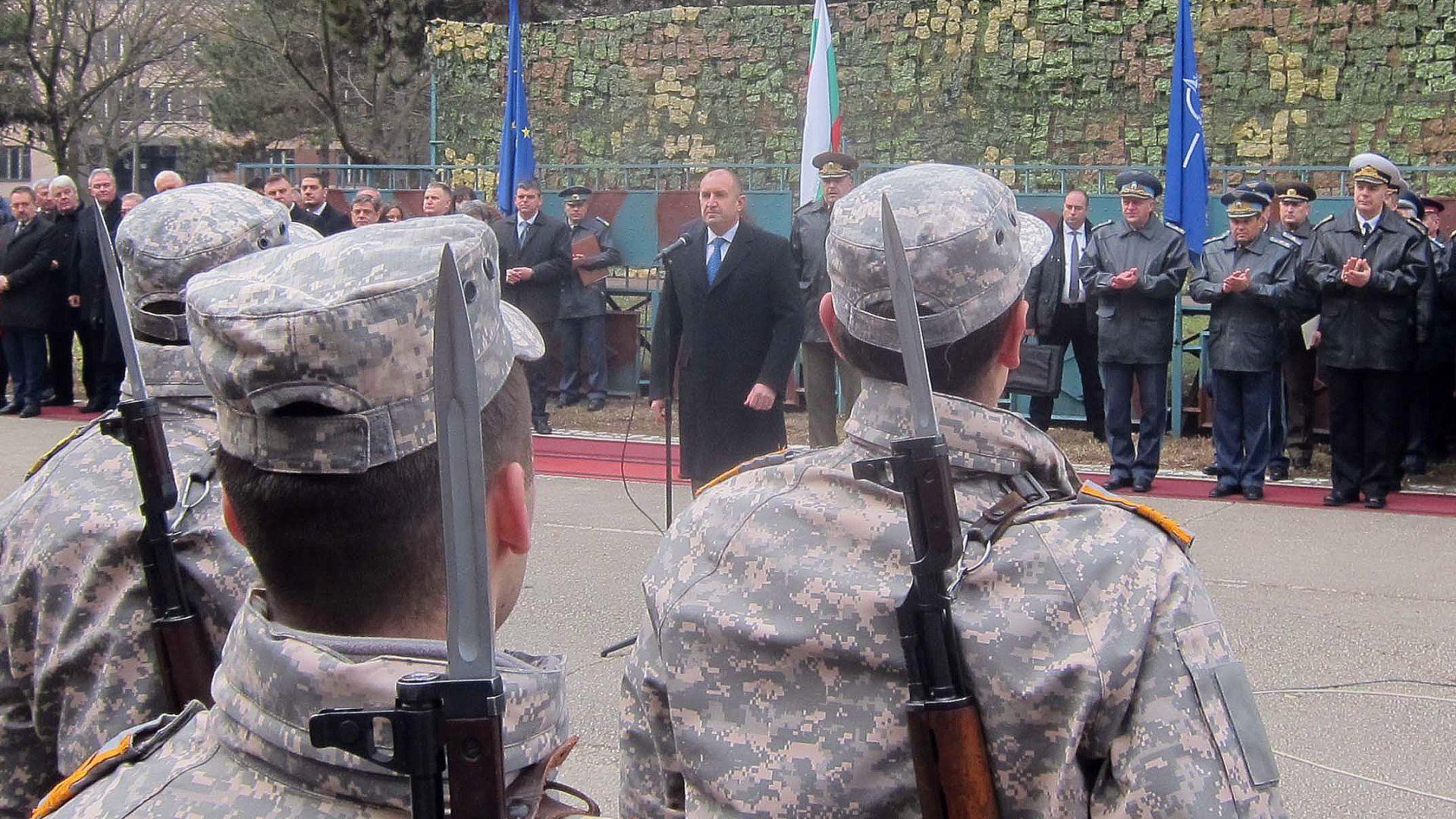 Днес е един дългоочакван ден за българските Военновъздушни сили, за