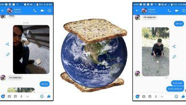 Студент от Нова Зеландия превърна Земята в сандвич