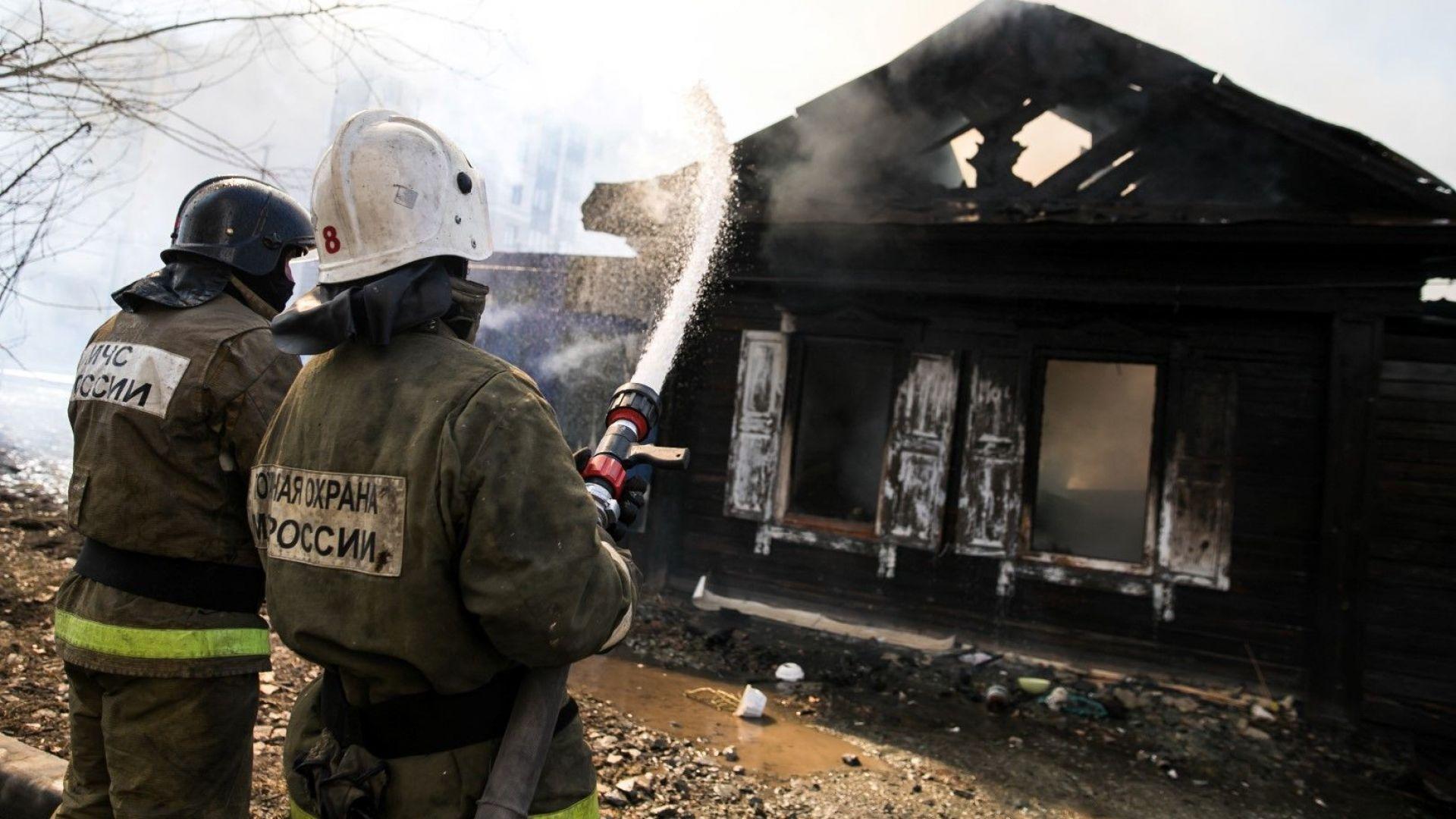 11 мигранти изгоряха при пожар в Русия