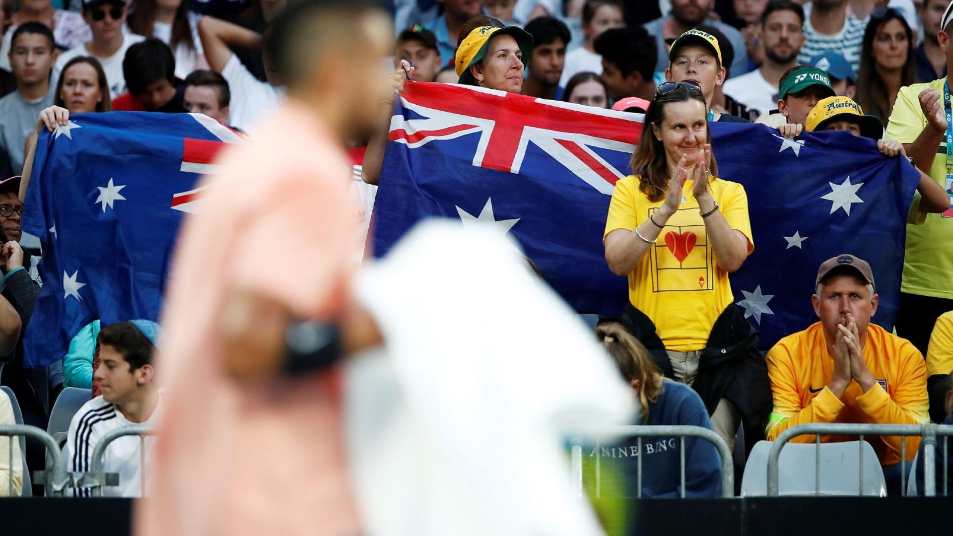 На Australian Open може да присъстват само местни фенове