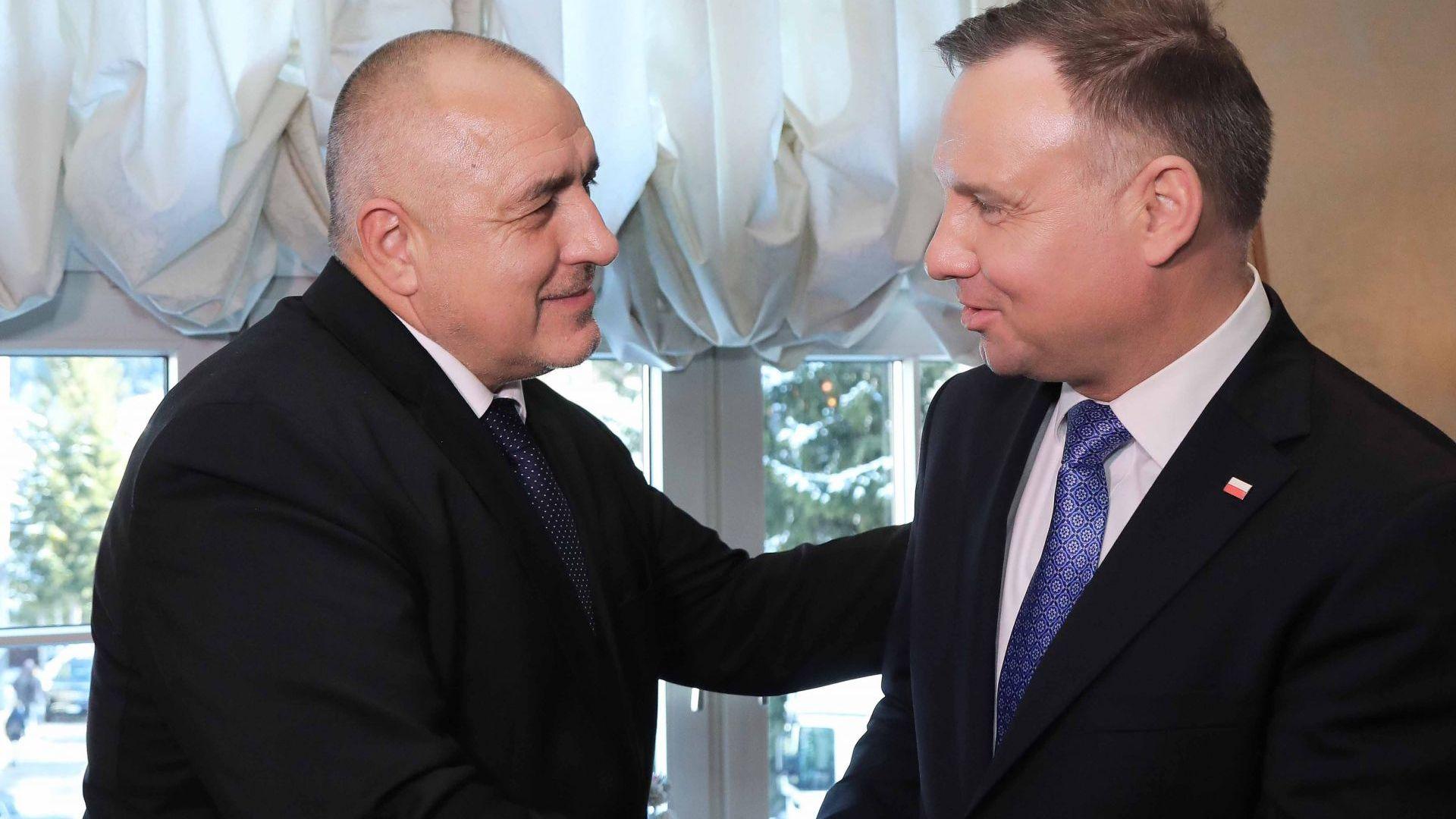 С президента на Полша Анджей Дуда