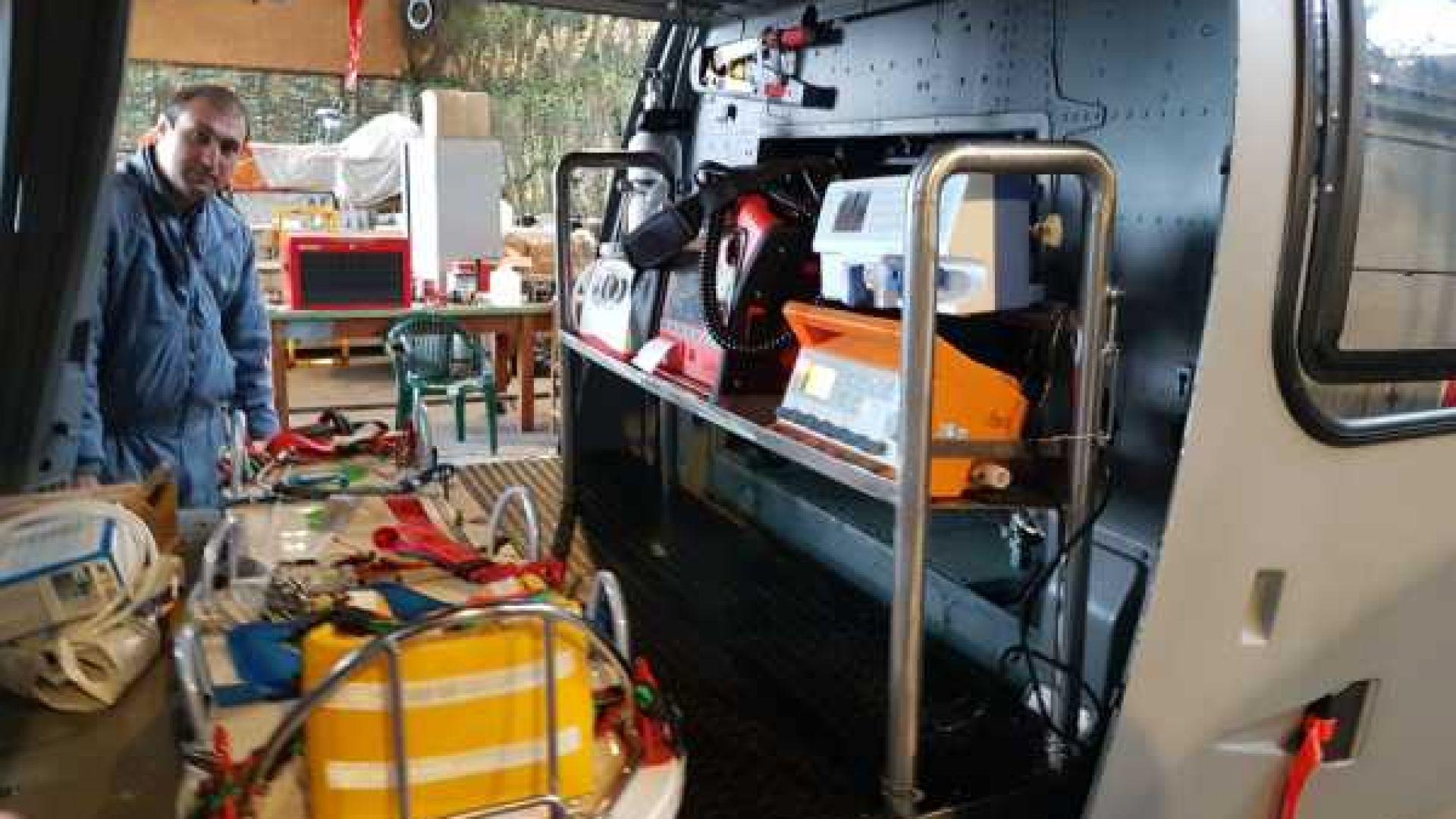 Военен вертолет AS 565MB Panther от състава на ВМС е