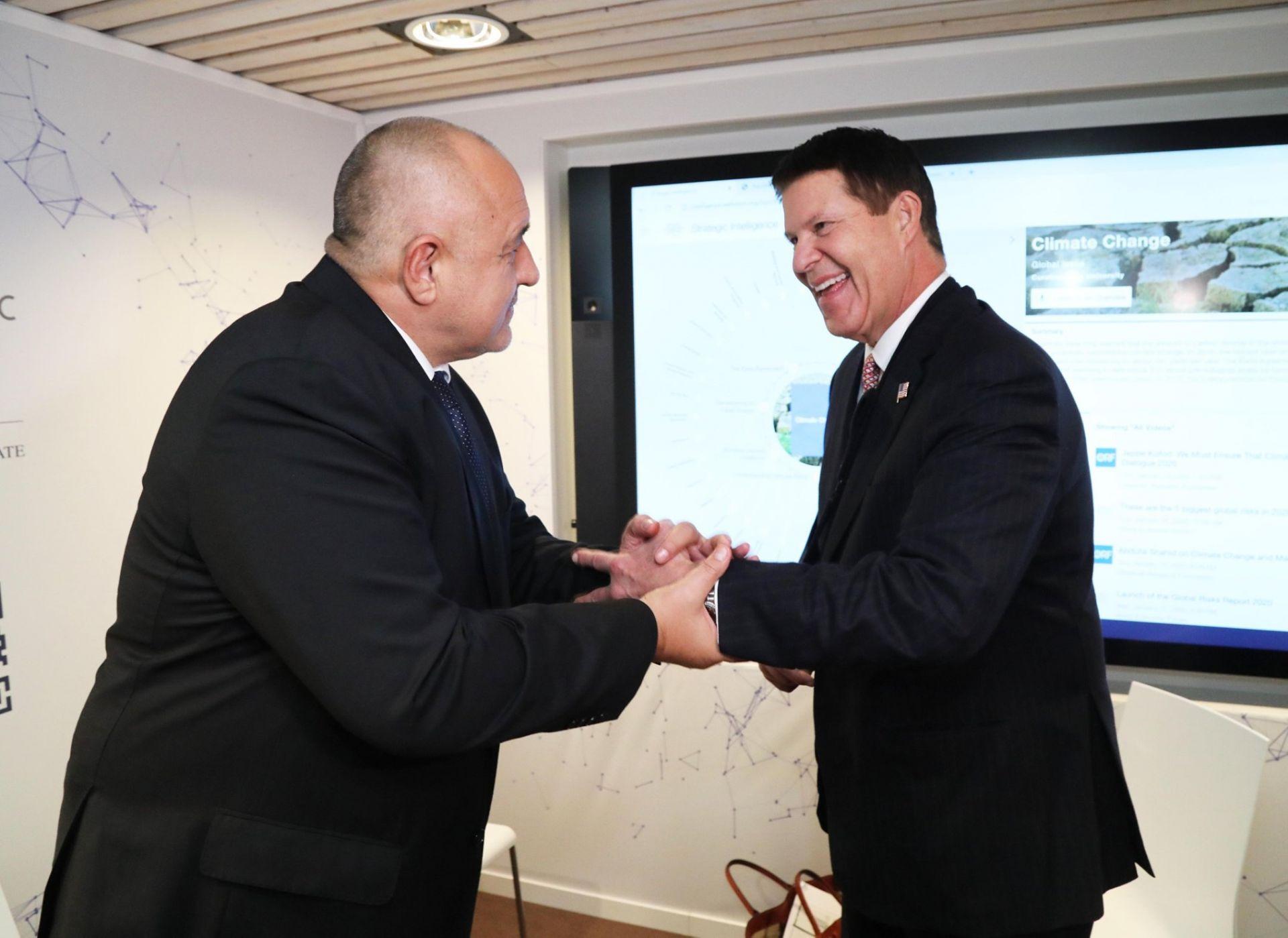 Борисов се срещна и с Кийт Крач