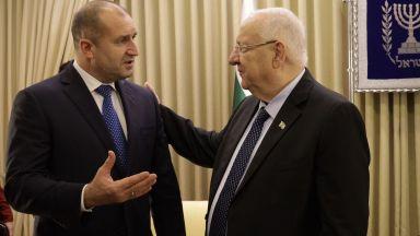 Румен Радев обсъди водната криза с президента на Израел, черпи опит