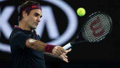 Безпощаден Федерер завери билета за дома на сърбина Крайнович