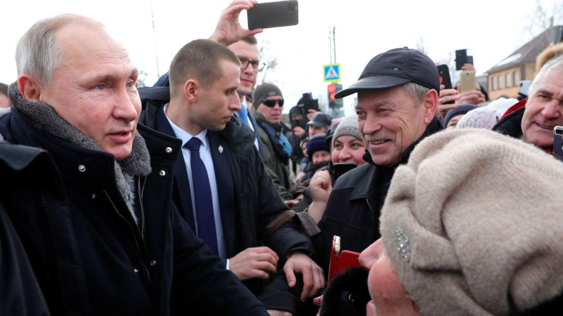 Руският президент Владимир Путин не смята за уместно да експериментира