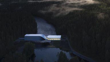 """Усукан"" мост служи още за скулптура и музей"