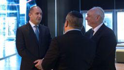Президентът търси челен опит в Йерусалим за водната криза