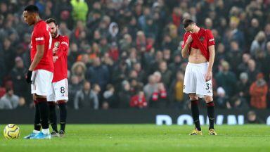 Затъването на Манчестър Юнайтед продължи с нов провал у дома