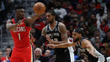 """Най-очакваният дебют в НБА не разочарова - вулканът """"Зайън"""" е тук (видео)"""