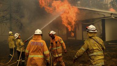 Заради пожар обявиха извънредно положение в района на Канбера