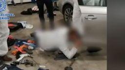 Зрелищен арест на българин в Германия за разстрела край Марбея (видео)
